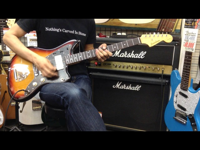 Bacchus BJM-60E MOD Fender 65 JM P.U 【商品紹介@Guitar Planet】