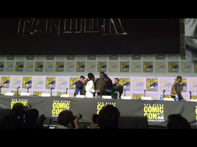 Black Panther cast Reaction After Watching Their Trailer For The First Time