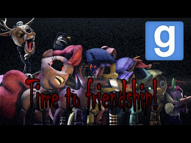 Garry`s Mod Five Nights at Pinkies (Co-op) - Ночь 3 - Опять удача