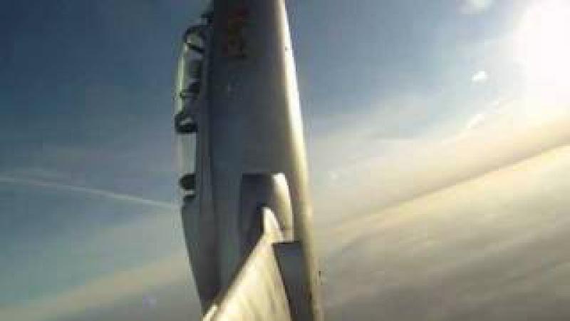 Колокол на самолете Л-29 - Tailslide L29