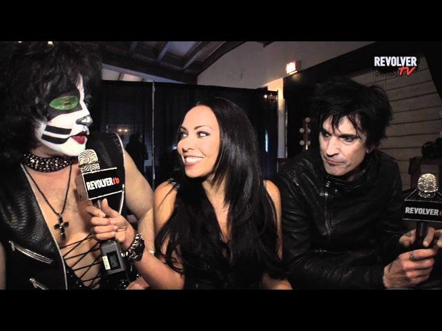 ✪✪✪ Эрик Сингер (Kiss) и Томми Ли (Motley Crue) перевод интервью - 10.04.2012