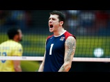 Top 10 Best Volleyball Attacks by Matt Anderson Champions Cup 2017