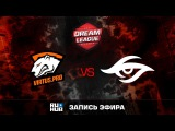 Virtus.pro G2A vs Secret, DreamLeague Season 8, game 1