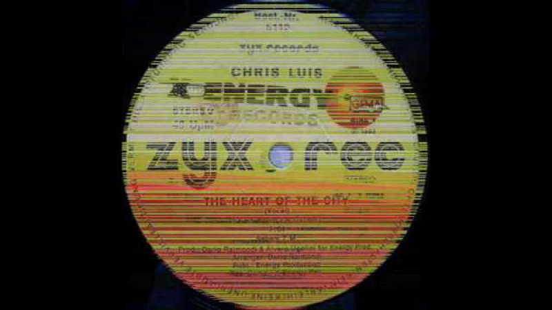 CHRIS LUIS - THE HEART OF THE CITY (VOCAL VERSION) (℗1983)