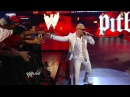 Raw: Pitbull and the Miami Heat dancers join The Rock