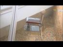 Дверь в душевую нишу серии TREND в передаче Дачный ответ от 18 июня 2017