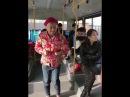 Вирусное видео,китаец поёт в автобусе,очень смешно!!