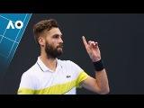 Paire v Fognini match highlights (2R) | Australian Open 2017