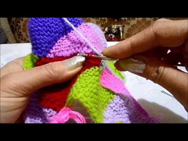 Modular Knitting örgüde Parçalı sistem