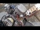 Завожу двигатель 139qmb без скутера с самодельным коммутатором.