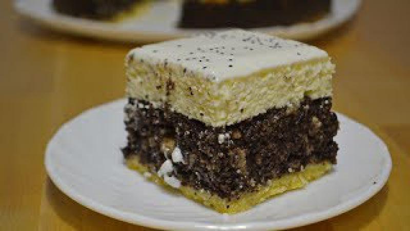 Творожно - Маковый Пирог   Очень Нежный!❆ Рождественская Выпечка Cottage cheese - poppy cake