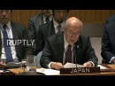 ООН: Совет Безопасности единогласно налагает целенаправленные санкции на Северную Корею.