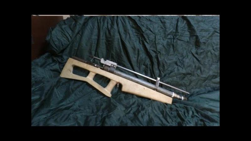 PCP винтовка своими руками. Самодельная пневматика.