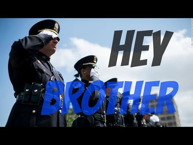Hey Brother | 2017 Police Tribute -- The Thin Blue Line