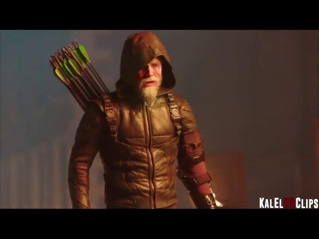Легенды и Стрела против Гранта в сериале Легенды Завтрашнего Дня 1 сезон