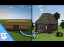 Как сделать из коробки средневековый дом в Minecraft / Как лучше строить в Майнкрафте