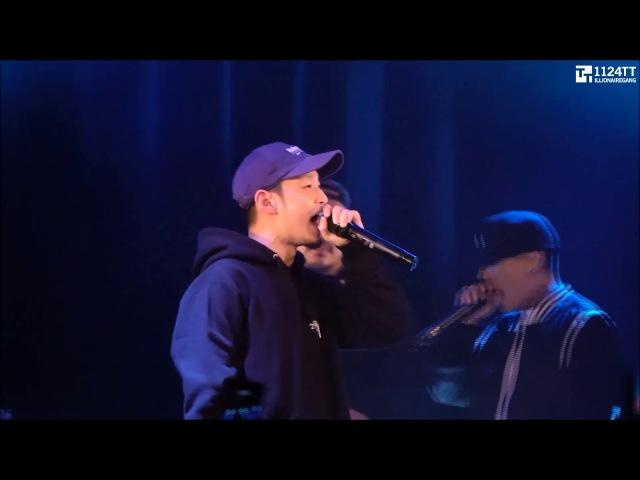 171116 STAY ALIVE - The Quiett, Dok2, Hash Swan (ILLIONAIRE AMBITION LIVE IN TOKYO 2017)