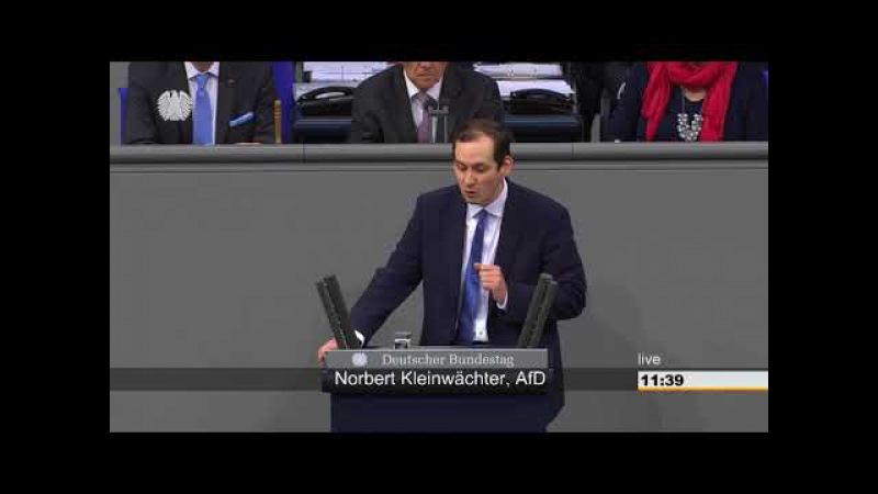 Kleinwächter (AfD): IS als Feind erkannt, aber Islam gehört zu Deutschland? - AfD TV