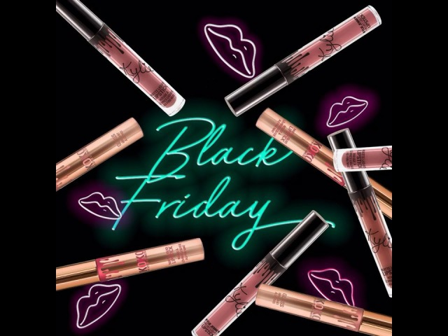 We just restocked select lip kits, glosses and singles on KylieCosmetics.com! Our BlackFriday sale ends tonight at 11.59pm pst. 40 off lip products and 30 off palettes 😍 Happy shopping everyone 🖤🎁