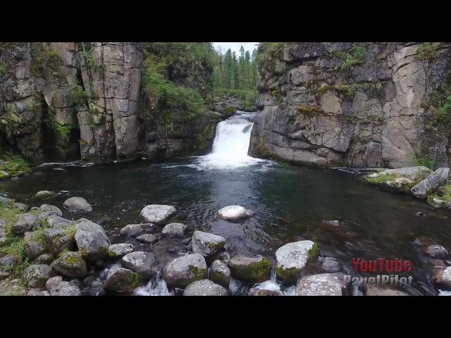 Водопады Сибири. Национальный парк Чикой