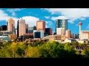 CALGARY ALBERTA , CANADA - A TRAVEL TOUR - HD 1080P