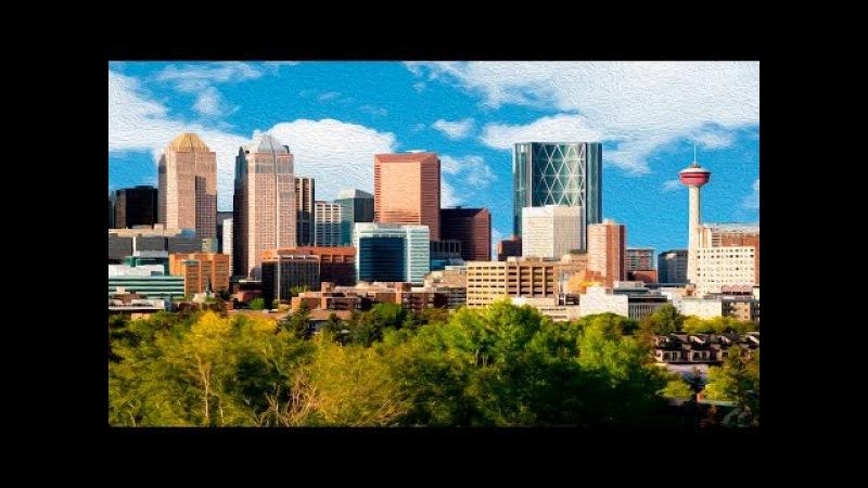 CALGARY | ALBERTA , CANADA - A TRAVEL TOUR - HD 1080P