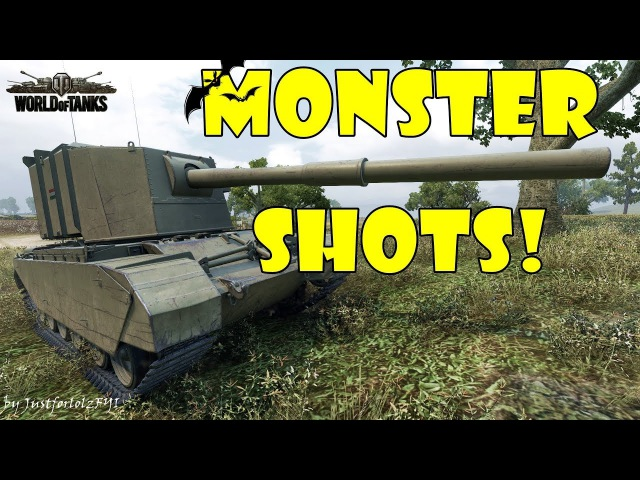 World of Tanks - Funny Moments | MONSTER SHOTS! 3 (Get derped!)