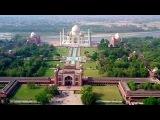 Taj Mahal from drone's eyes in 4k..!