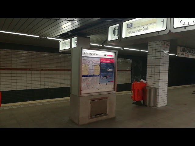 U-Bahn Nürnberg - Baustelle Langwasser