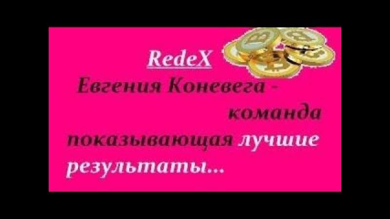 RedeX Евгения Коневега команда показывающая лучшие результаты