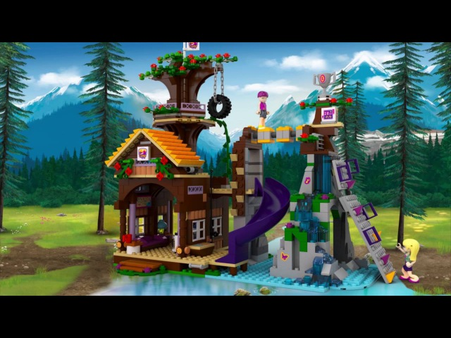 LEGO® Friends 41122 Спортивный лагерь: дом на дереве