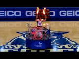 Drum Cover Mashup &amp LIVE FIRE DRUMMING @ Georgia State Halftime Show