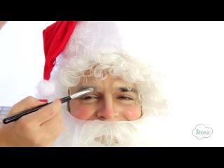 Tutorial maquillaje Santa Claus - Make up Santa Claus