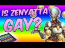 Zenyatta Calls Everything Gay in Overwatch Competitive! (Overwatch Soundboard Trolling)