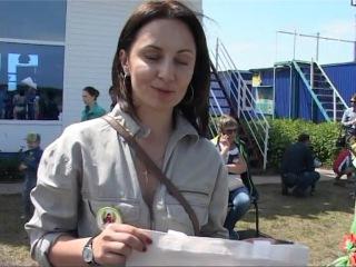 Второй всероссийский детский экологический фестивать Зеленые крылья в Первушино, 2016 год