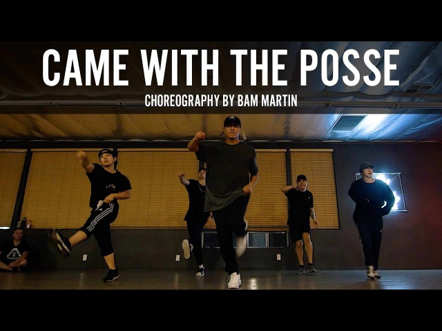 Ace Hood Came With The Posse Choreography by Bam Martin