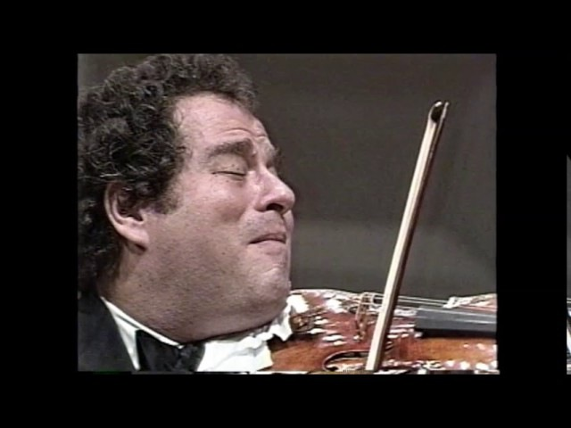 Mozart Violin Concerto No 3 in G major, K 216 Itzhak Perlman  Kazuyoshi Akiyama / Tokyo S.O