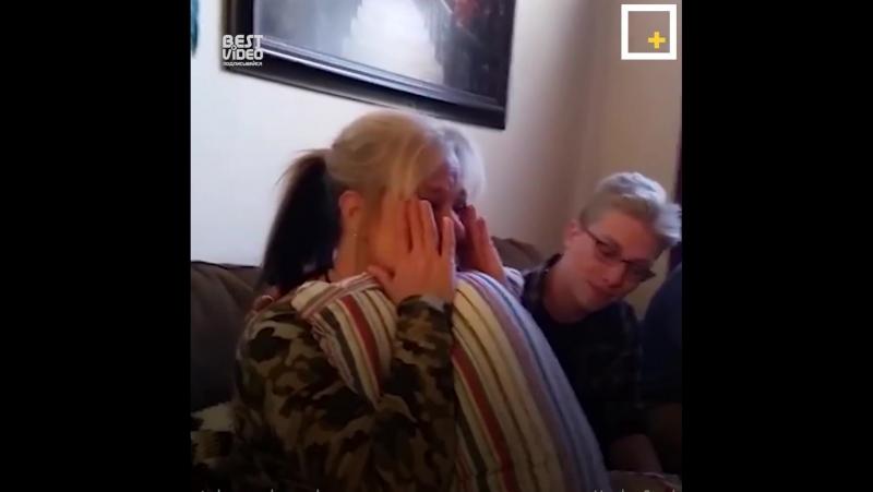 После смерти дедушки внучка решила превратить его рубашку в подарок для мамы