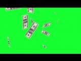 Деньги Часть #2 (Хромакей) Зеленый фон.Футаж