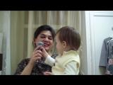 Покоряем с Есенией сердца слушателей!))) Дуэт мамы и дочки))) Хихи))