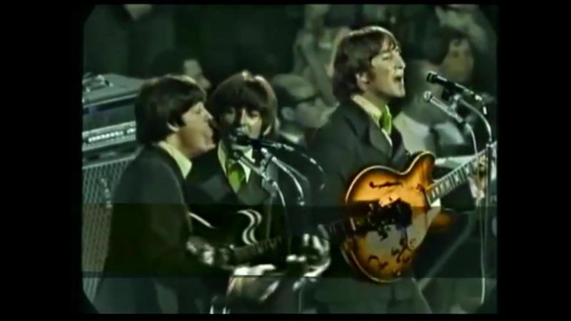 The Beatles - Nowhere Man (1966 'Munich 'Colorized)