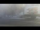 В Бийске горел автомобиль ГАЗ 28.11.2017