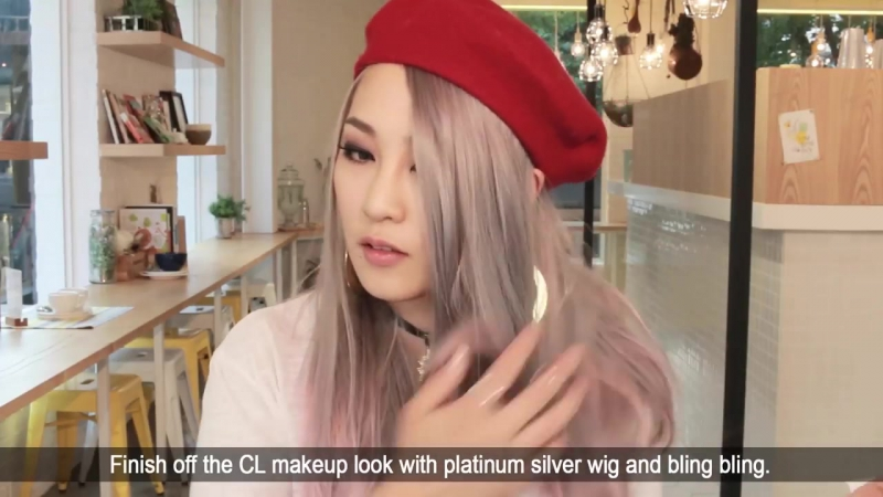 (ENG) 2NE1 씨엘 메이크업 CL inspired makeup tut _ SSIN