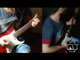 Rammstein - Wollt Ihr Das Bett In FLammen Sehen? (guitar cover by Mustafa)