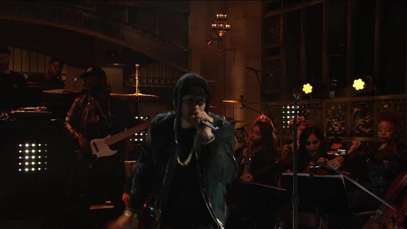 Eminem_ Walk on Water, Stan, Love the Way You Lie (ft. Skylar Grey) (Live) - SNL