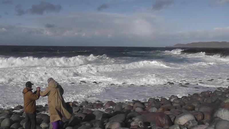 Жил старик у самого синего моря