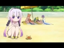 Kanna oy yeah mister crab Дракон горничная Кобаяши сан Kobayashi san Chi no Maid Dragon Дракон горничная госпожи Кобаяши