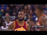 LeBron James Full Highlights 2017.01.16 at Warriors.