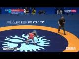 Чемпионат Мира по борьбе 2017 Финалы Мужчины вольная борьба 25 августа 2017 R. Nakamura vs Y Bonne Rodrig