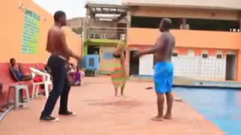 юморной танец негров funny dance of the Negroes_low